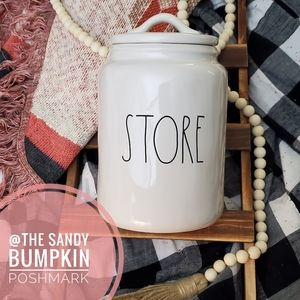 Rae Dunn STORE Canister